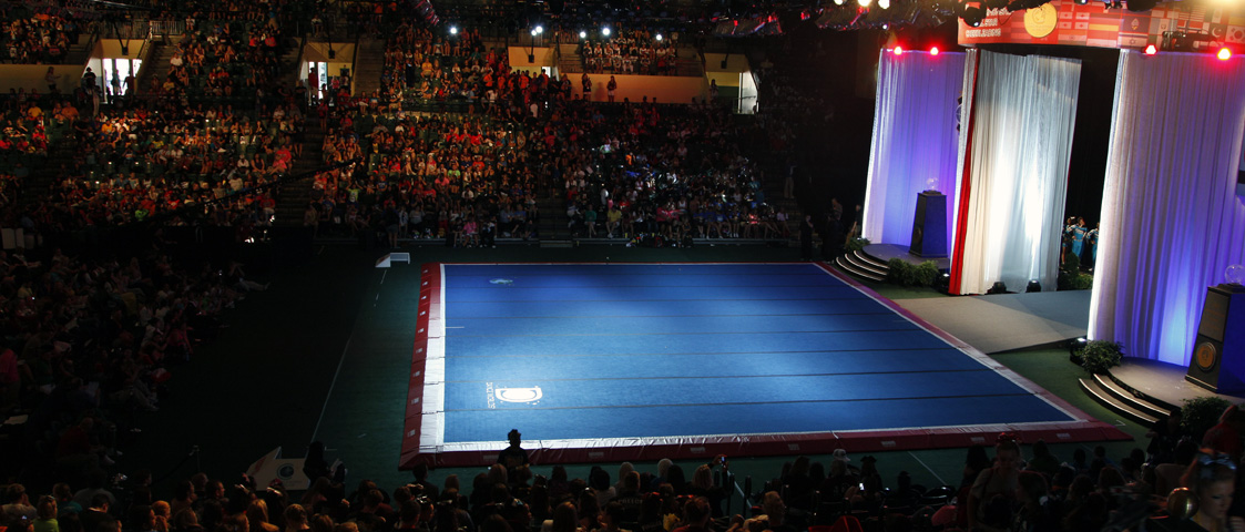 Cheerleading Competition Stage