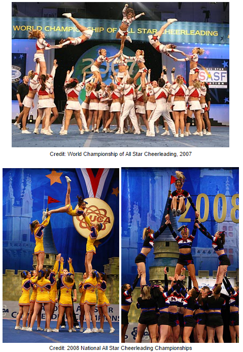 Competition Cheer Explodes In The Millennium And 2004 USASF IASF Host First Ever Cheerleading Worlds Championship Walt Disney World